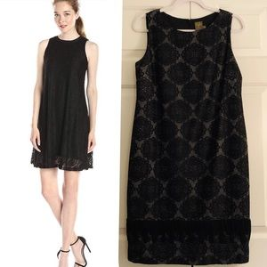Taylor lace overlay dress - like new